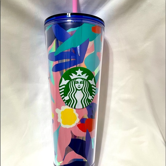 🌼🌸🌺STARBUCKS TRAVELERS COLD CUP🌺🌸🌼